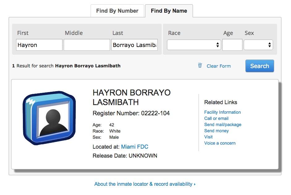 20141006 guatemala hayron borrayo bingoton prison bureau