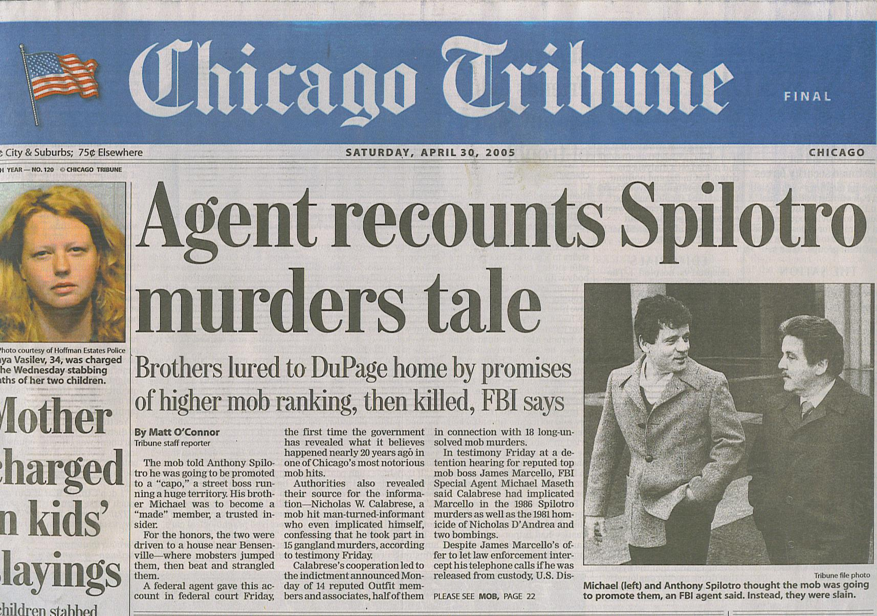 spilatro brothers chicago tribune