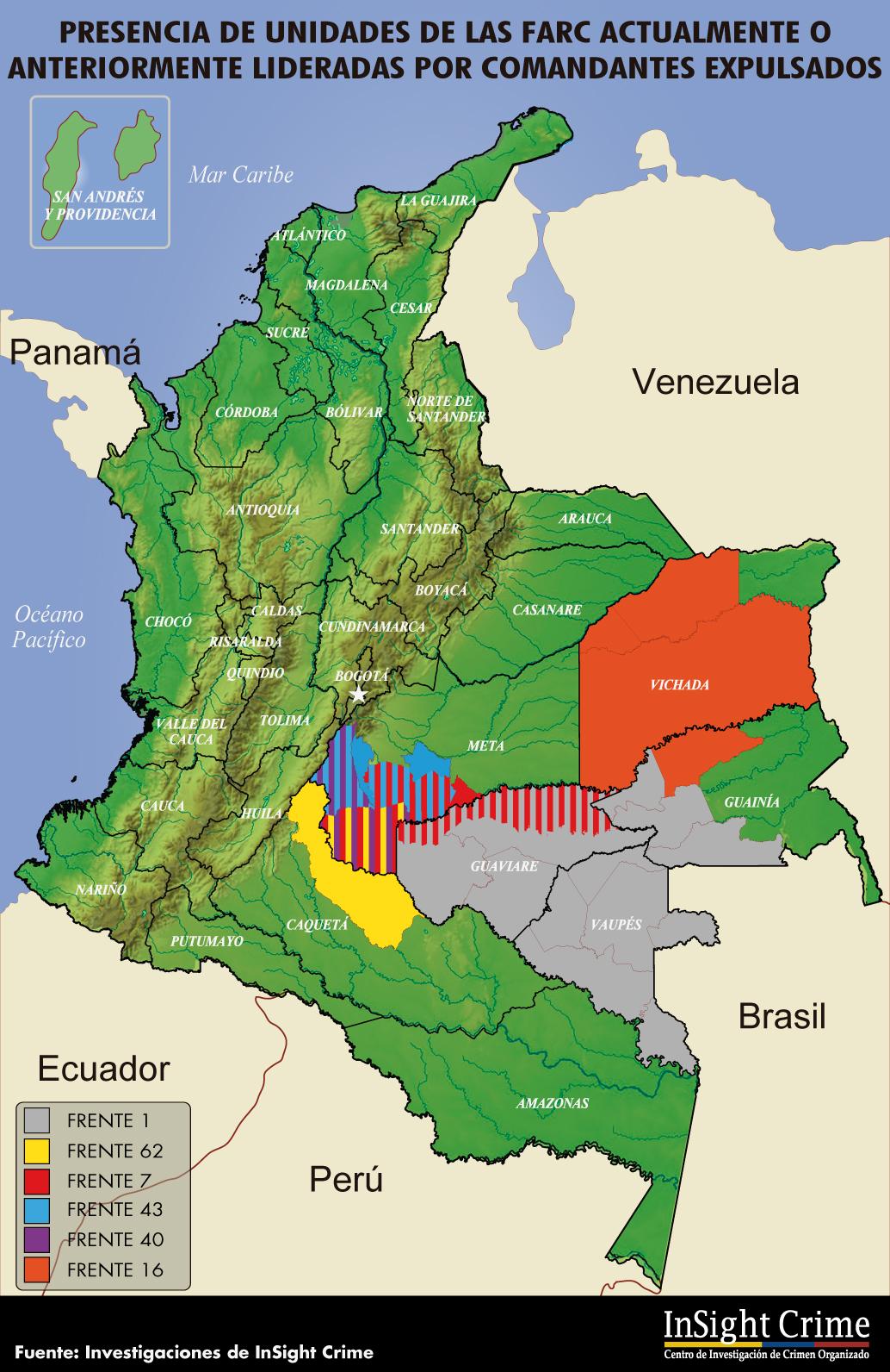 Farc bloque oriental disidencia Espaol 2