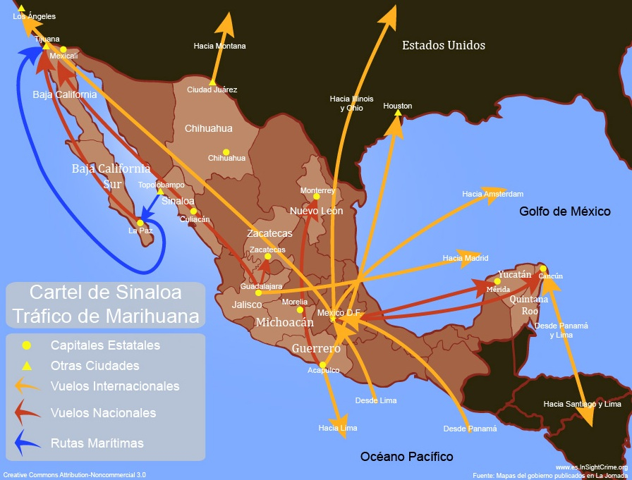Chapo Marihuana Routes espanol copia