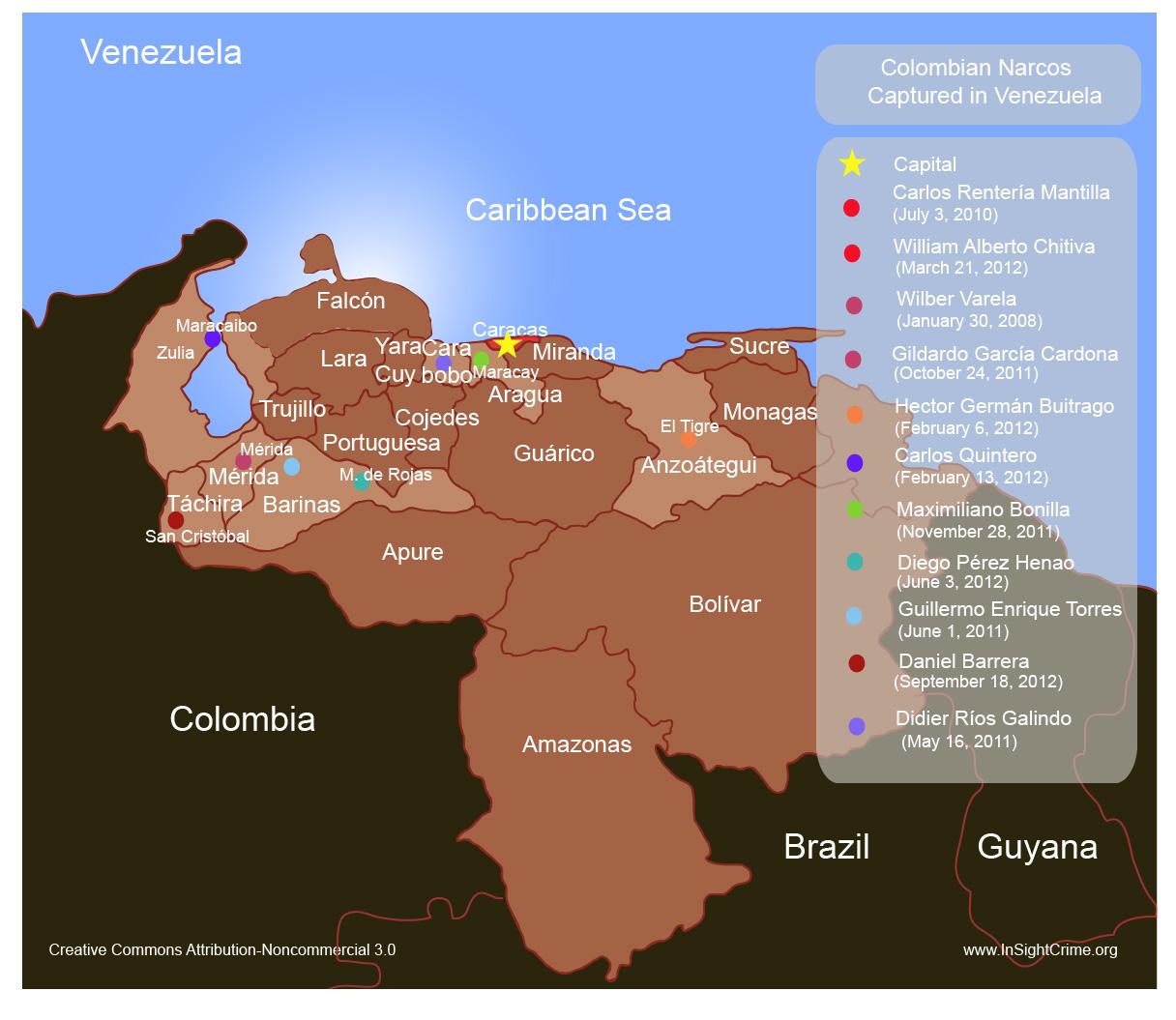 Colombia narcos venezuela
