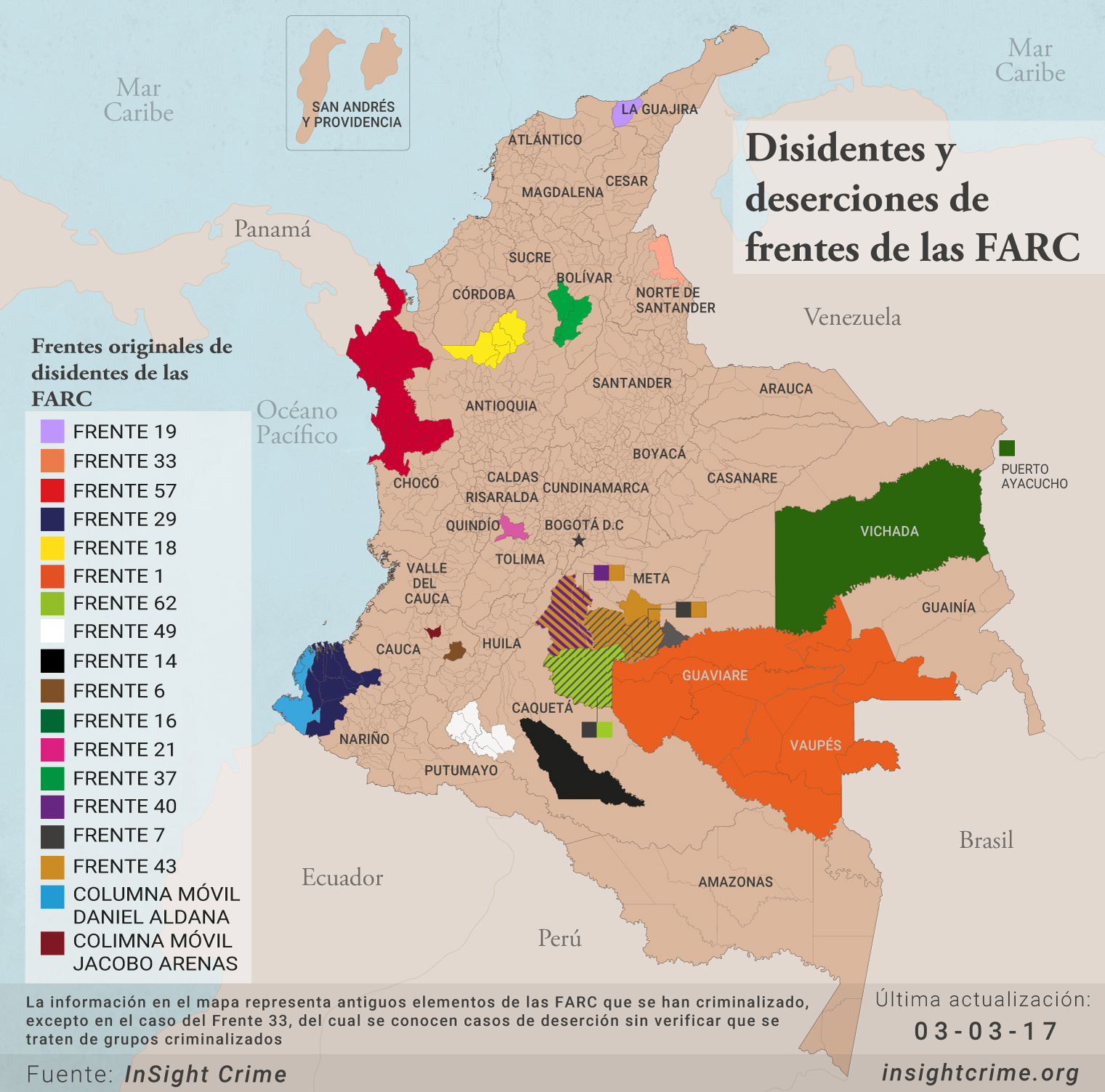 FARC dissidents 03 03 17