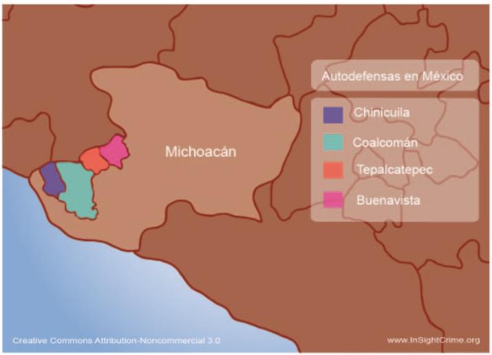 Grupos de autodefensa en México