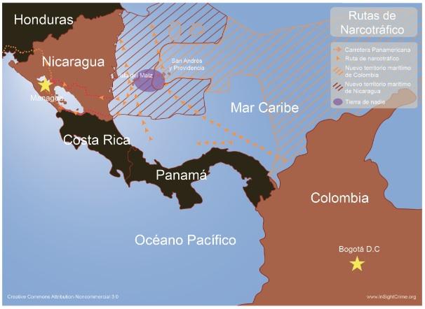 Nicaragua-Colombia español