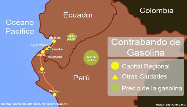 Peru - Petrol Smuggling espanol