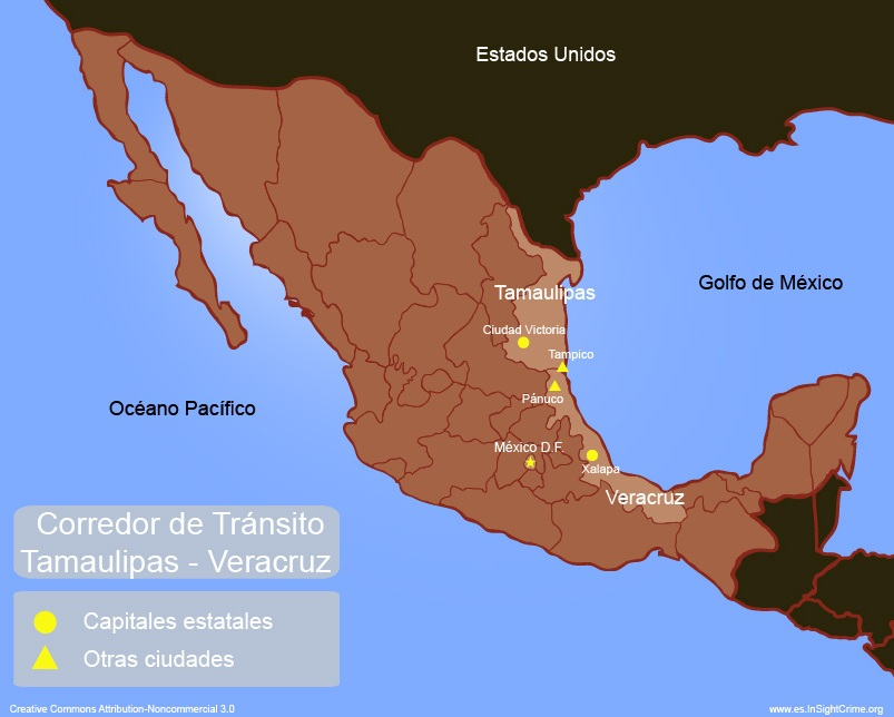 Tamaulipas Veracruz - Transport Corridor espanhol