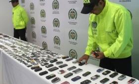 Resultado de imagen para celulares incautados interpol