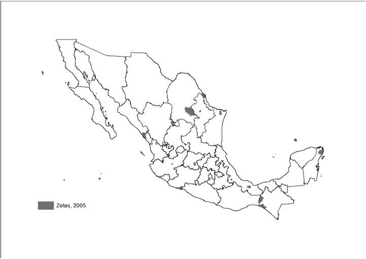 mexico zetas 2005