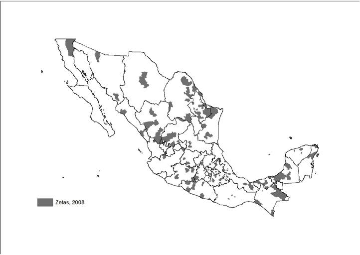mexico zetas 2008