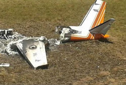 One of the Mexican-matriculated planes shot down in Venezuela