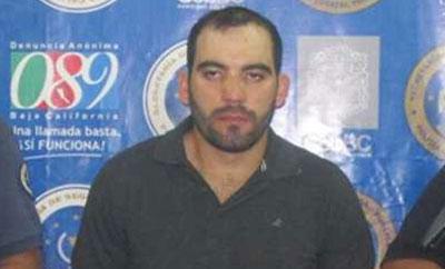 Sinaloa Cartel bodyguard Juan Angel Santos Lara