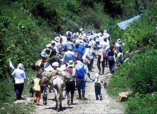 Displaced in Colombia