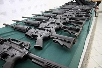 El Salvador gangs surrendering weapons earlier this year