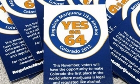 Pro-legalization pamphlets in Colorado