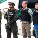 ID of a Colombian drug trafficker arrested in Venezuela