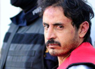 Zetas' leader Balazar Saucedo Estrada after being captured