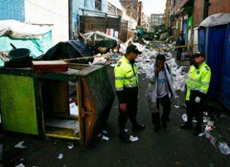 Bogota drug distribution: the Bronx