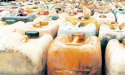 Contraband fuel seized in Venezuela