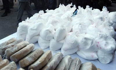 A Bolivian cocaine shipment seized in Paraguay in January