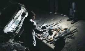 """Guns found in previous failed operation against """"El Fantasma"""""""