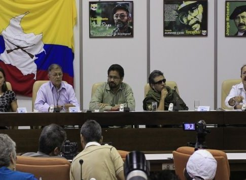 """""""Ivan Marquez"""" at peace talks in Cuba"""