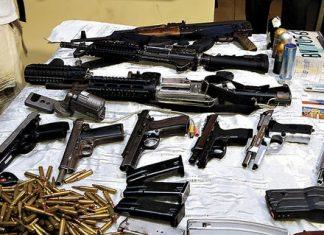 Guns seized in Honduras
