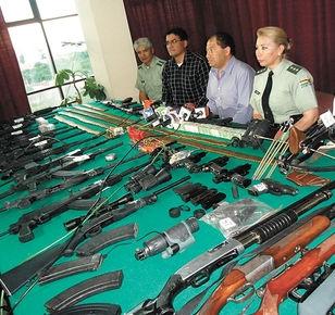 Police arrest drug trafficking suspects in Bolivia