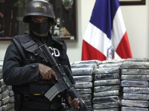 Cocaine seized off Dominican Republic coast in January