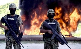 Use of Mexico's Marines in drug operations is falling