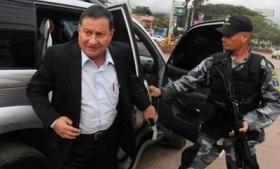 Honduran Security Minister Pompeyo Bonilla