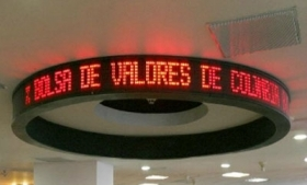 Colombia's principal stock exchange
