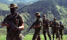 BACRIM fighters in Colombia