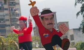 Nicolas Maduro won a surprisingly narrow victory
