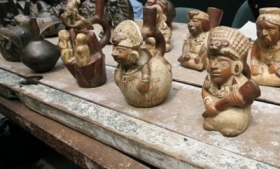 Suspects were indicted for trafficking Peruvian artifacts