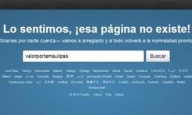 Crime tracking webpage Valor x Tamaulipas
