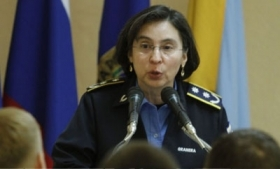 Nicaragua police chief Aminta Granera