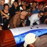 Funeral of Honduras Prosecutor Orlan Chavez