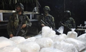 A seizure of Sinaloa Cartel methamphetamine