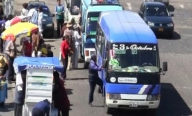 Buses in Lambayeque, North Peru are victims of extortion