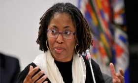 IACHR Rapporteur for Women's Rights Tracy Robinson,