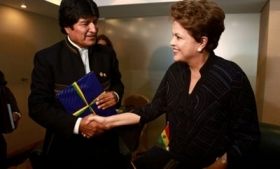 Bolivia and Brazil plan to increase security cooperation