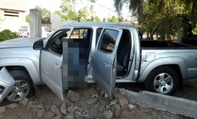 Jesus Torres Chavez' truck, following the attack