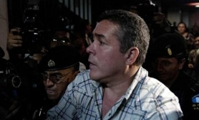 Captured Guatemalan trafficker Walter Overdick