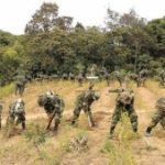 Bolivian forces eradicate coca in Apolo