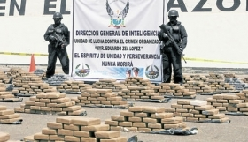 Drugs seized during Castro's first capture