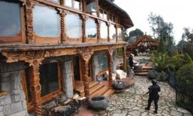 A house seized from the Beltran Leyva Organization