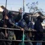 A vigilante group in Mexico