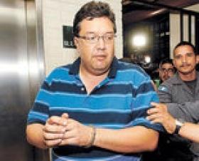 Suspected client Cesar Aguirre Barrientos