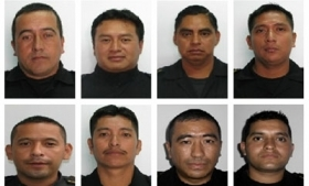 The 8 slain police officers in Guatemala