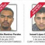 Alleged Zetas Jose Ramirez and Ismael Lopez